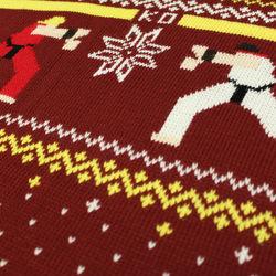 Jultröja med Street Fighter motiv. Kommer att göra mamma