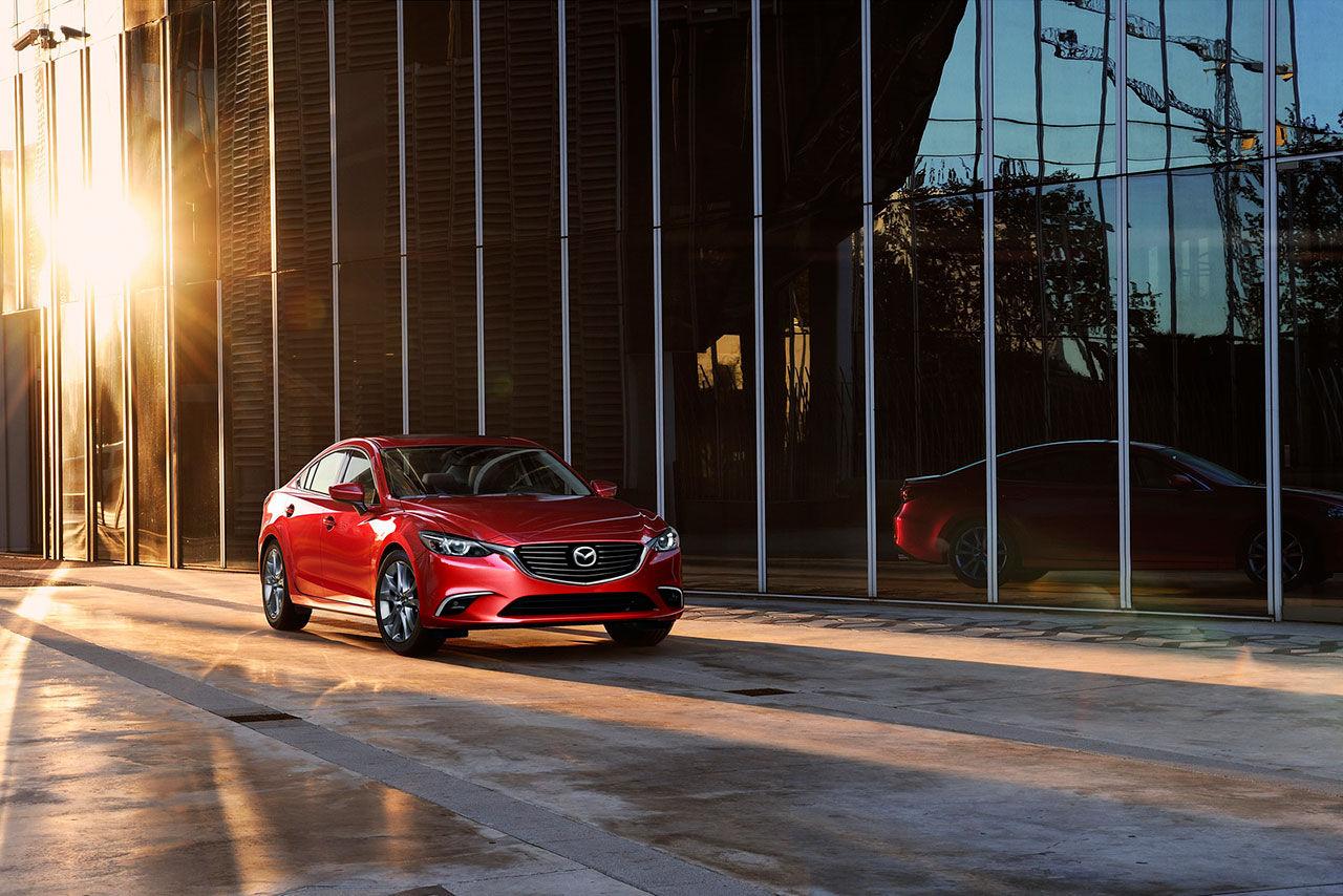 Mazda lyfter 6