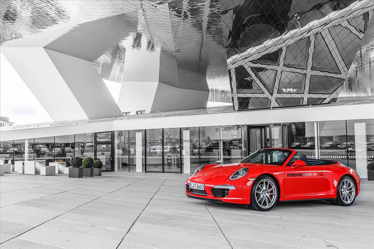 Porsche börjar med uthyrning