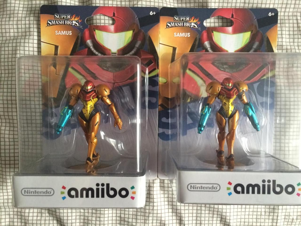 Amiibo skickar ut defekt Samus-figur