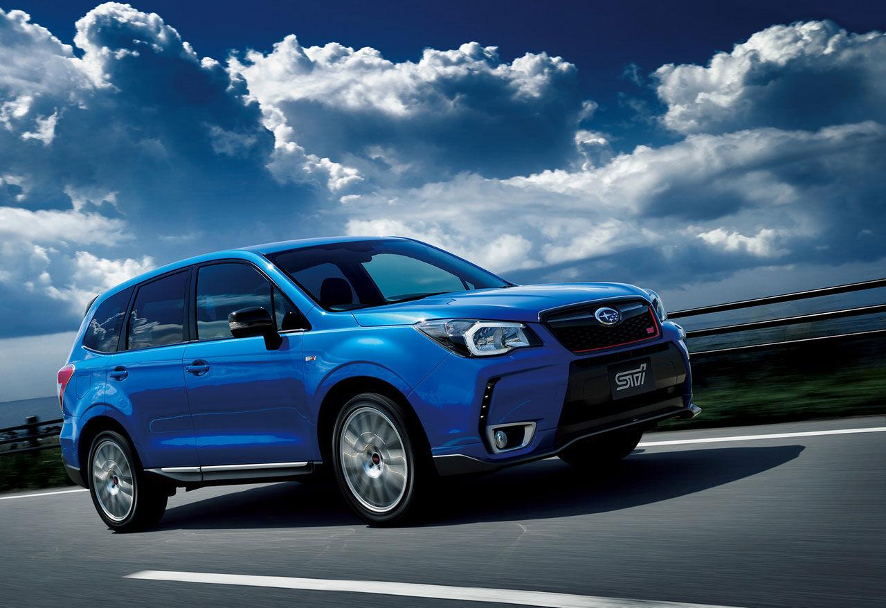 Subaru presenterar Forester tS