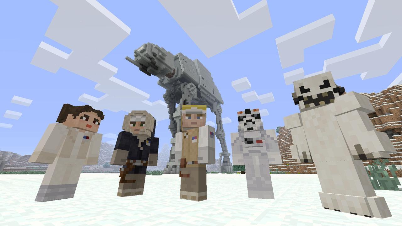 Exklusivt Star Wars-tillägg för Minecraft släpps till Xbox