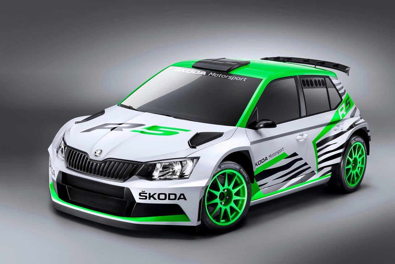 Skoda visar nya Fabia i rallykläder