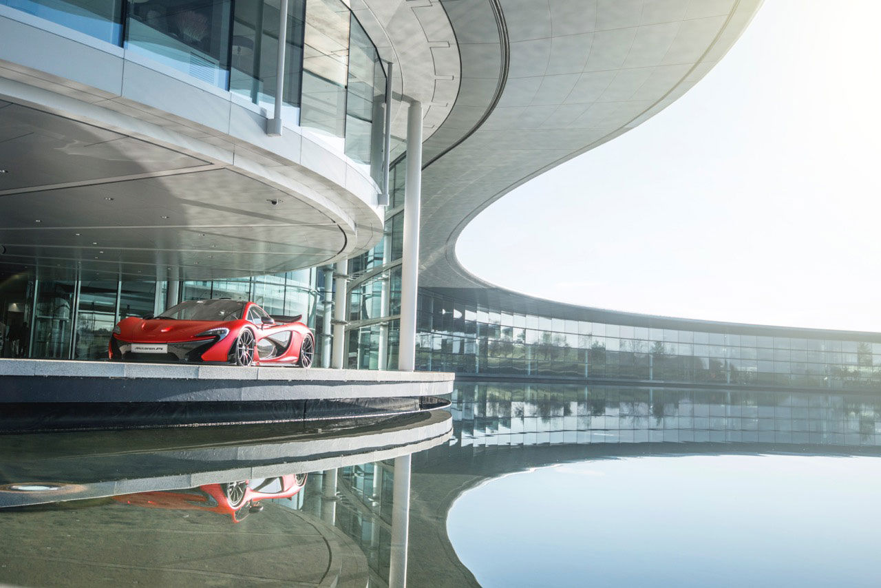 McLaren Special Operations presenterar ny P1