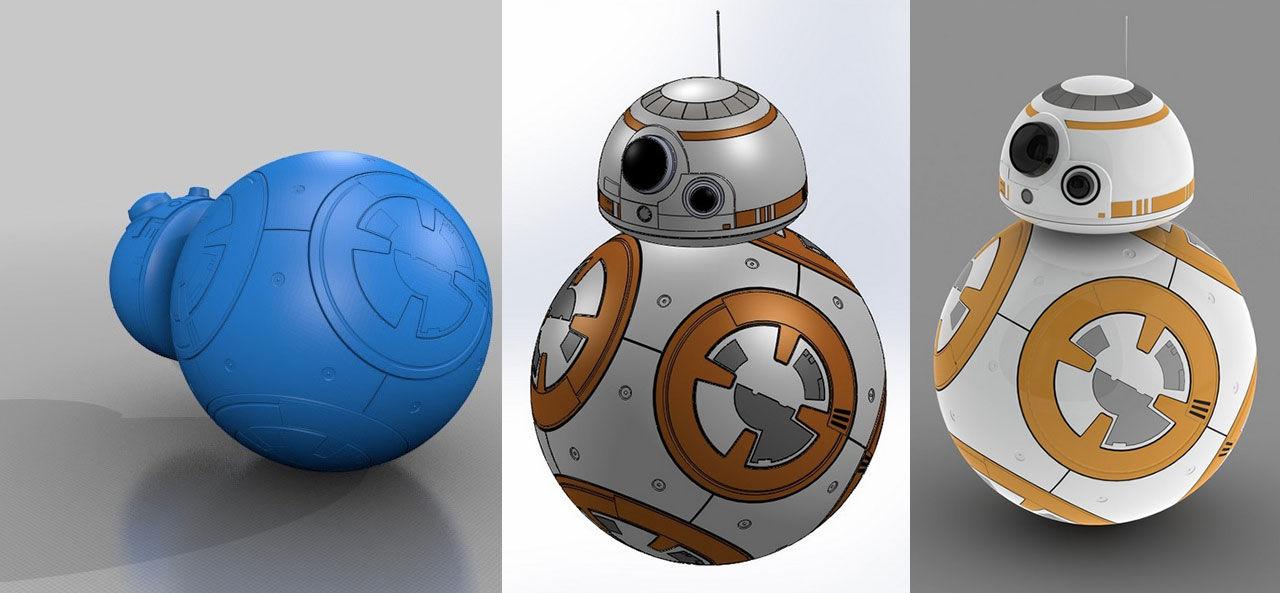 3D-printa den nya Star Wars-roboten