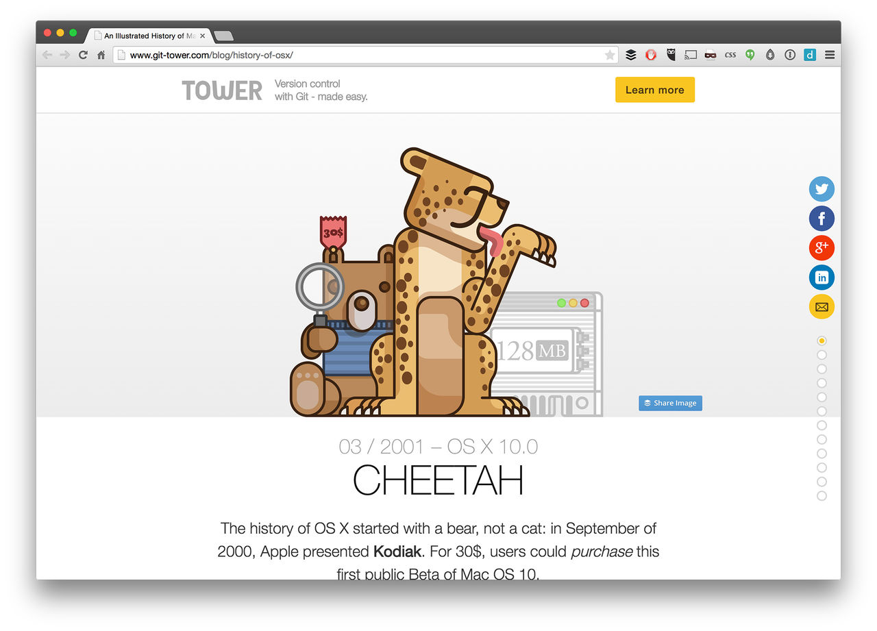 Historien om OS X
