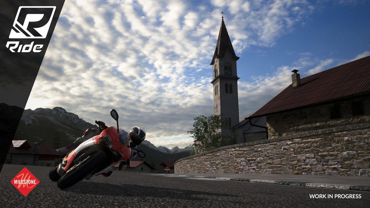 Ride är en ny motorcyklelsimulator