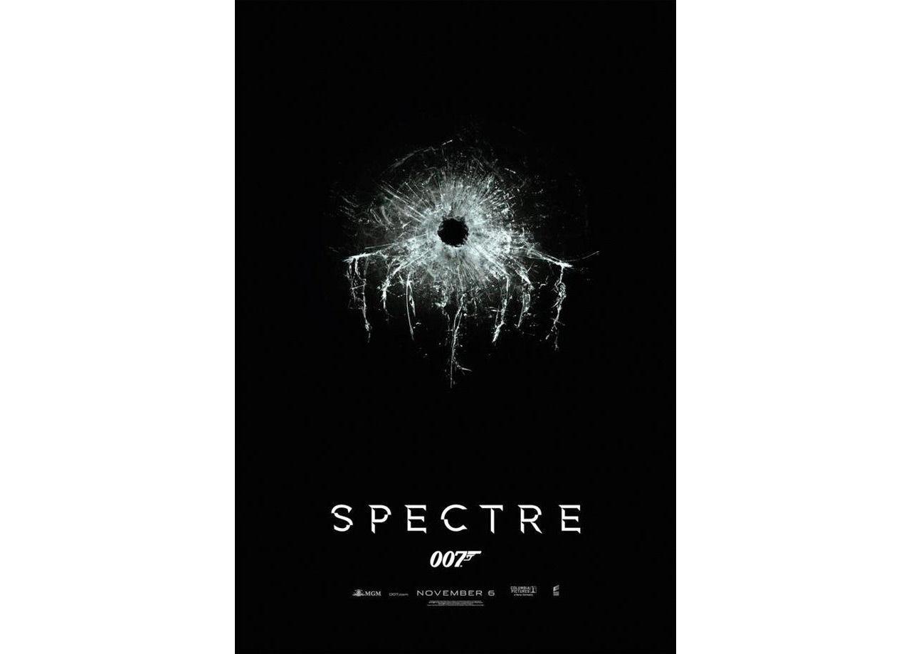 Poster för nya Bond-filmen