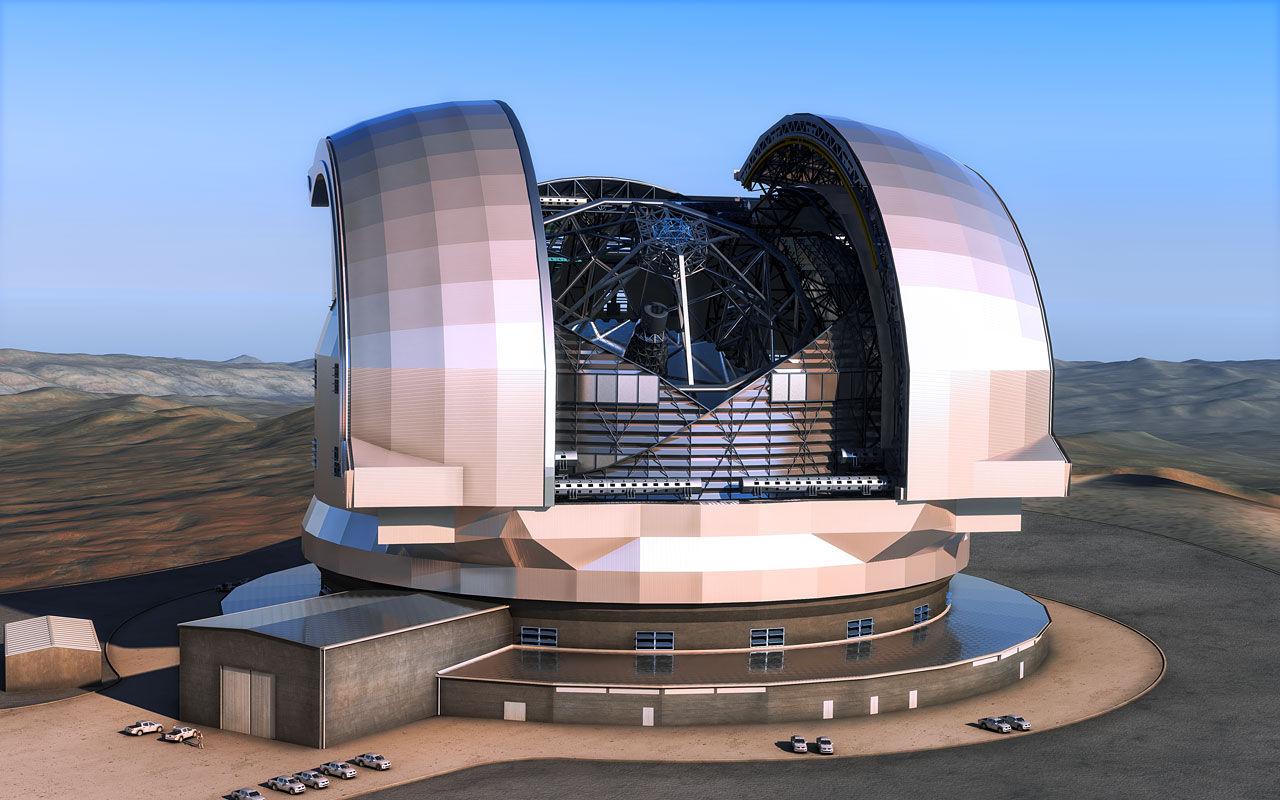 Europa bygger världens största teleskop i Chile