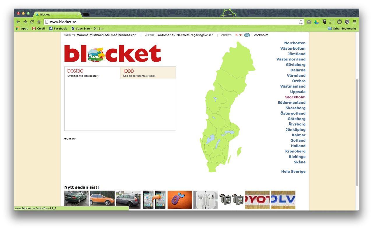 Blocketanvändare Riskerar åtal För Häleri Köpte Stulna Varor För