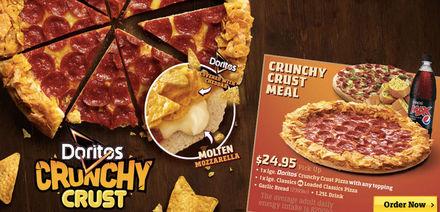 Pizza Huts jacka lika varm som pizzorna. Tillverkad i samma