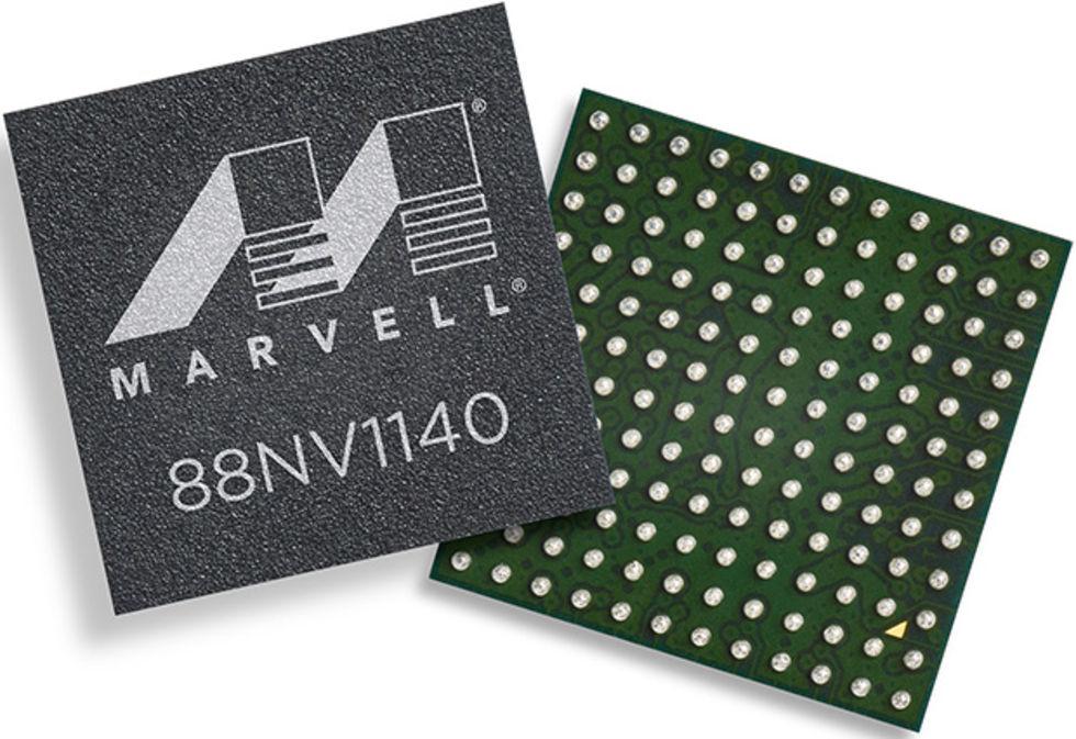 Marvell tar fram 88NV1140 SSD-kontroller