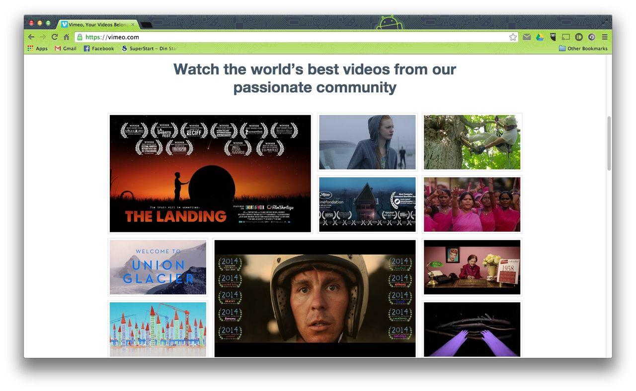 Vimeo får stöd för 4K