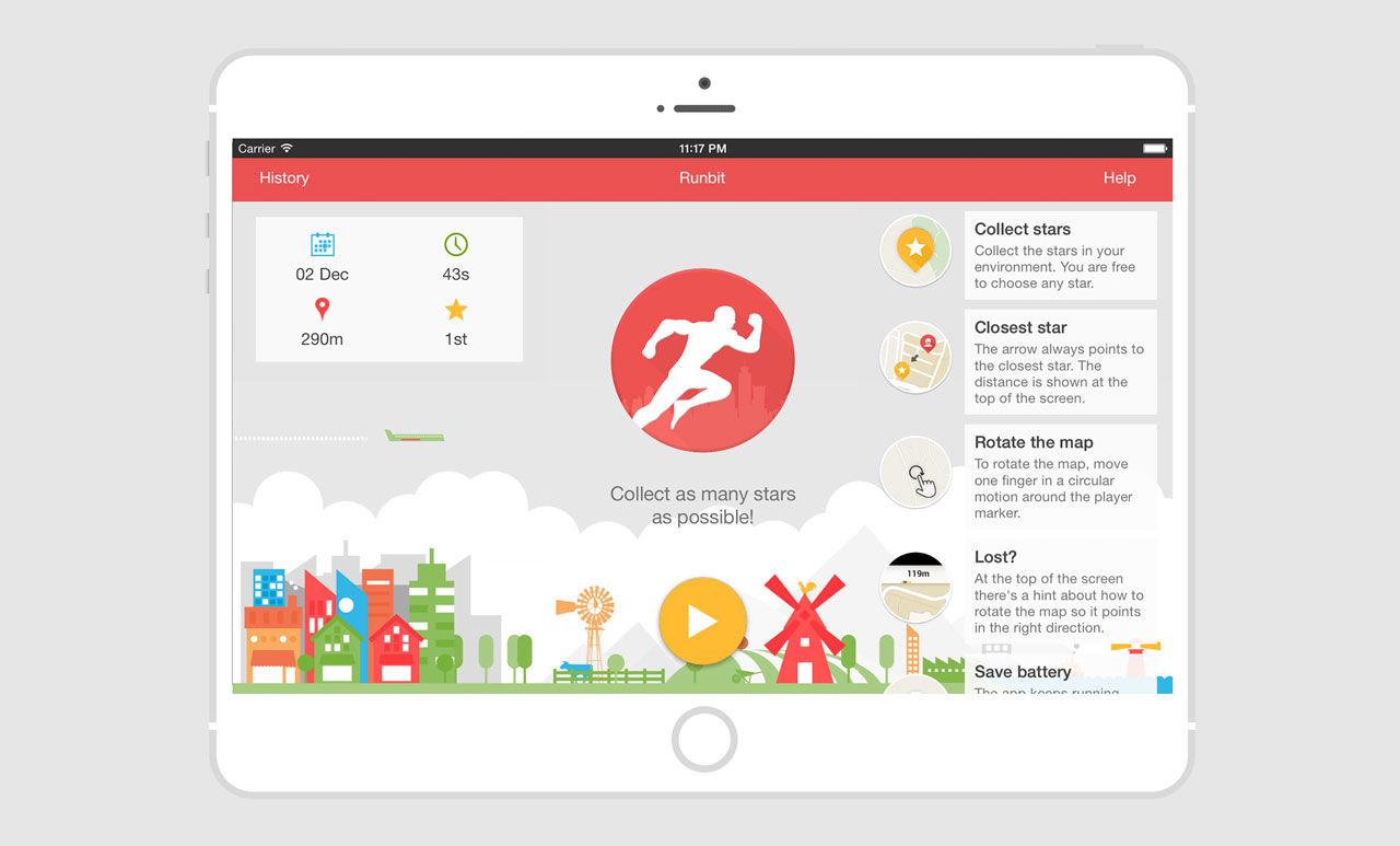 Ny app ska få dig att springa nya vägar