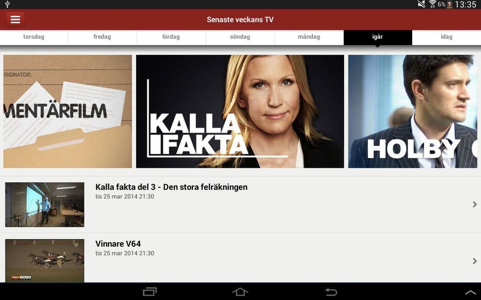 Chromecaststöd på TV4 Play