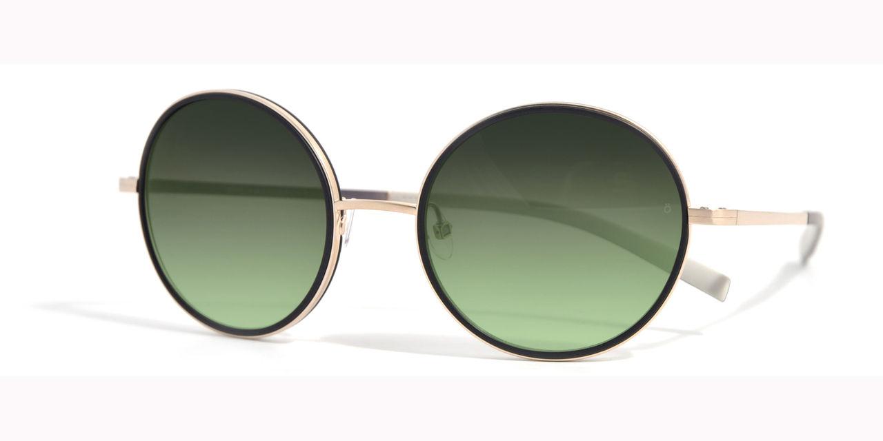 Klotrund solbrilla