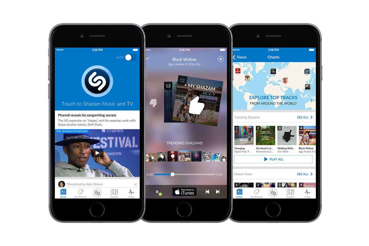 Shazam får Spotifystöd