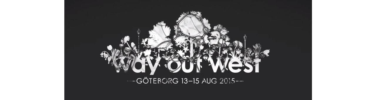 Datum för Way Out West 2015 är spikat
