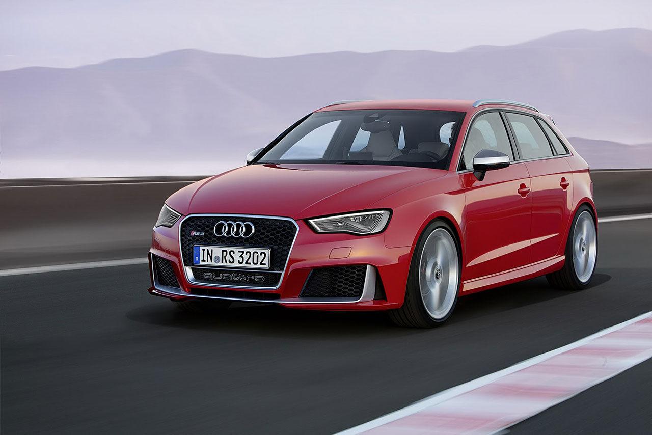 Audi rullar ut nya RS 3 Sportback