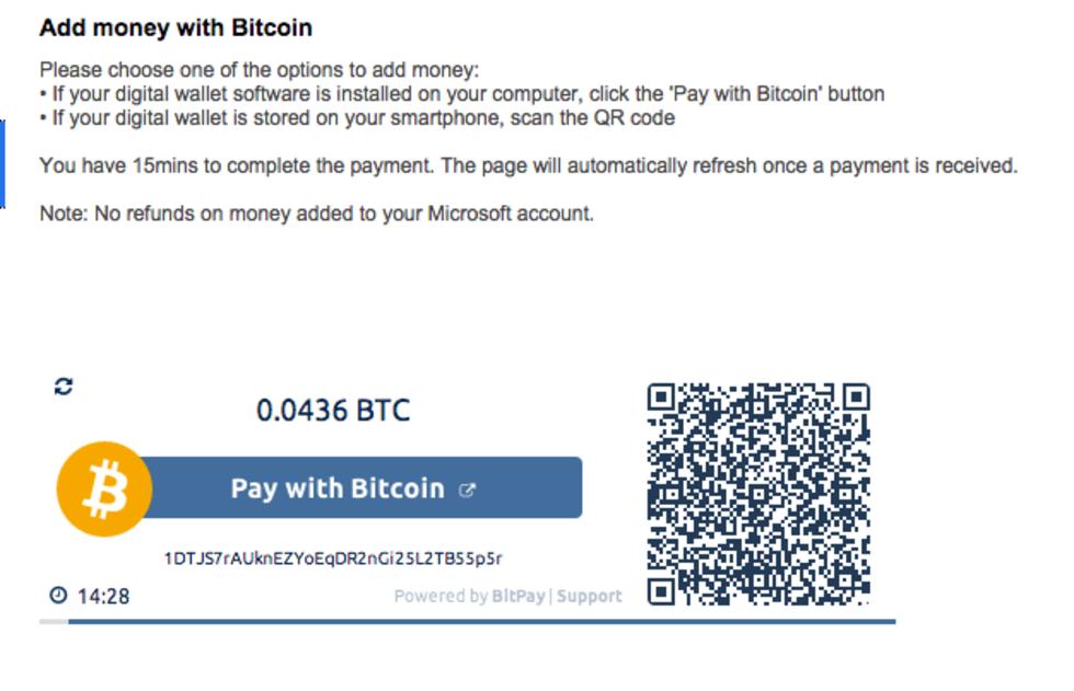 Microsoft börjar acceptera bitcoins i sina onlinebutiker
