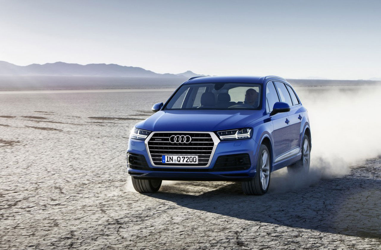 Audi presenterar nya Q7