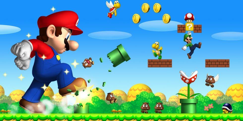 Sony gör Super Mario Bros-filmen?