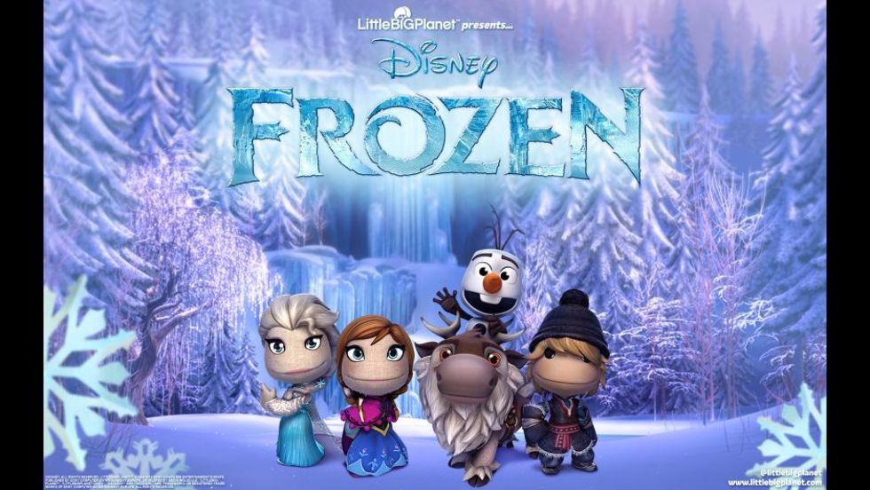 LittleBigPlanet 3 får Frozen-DLC