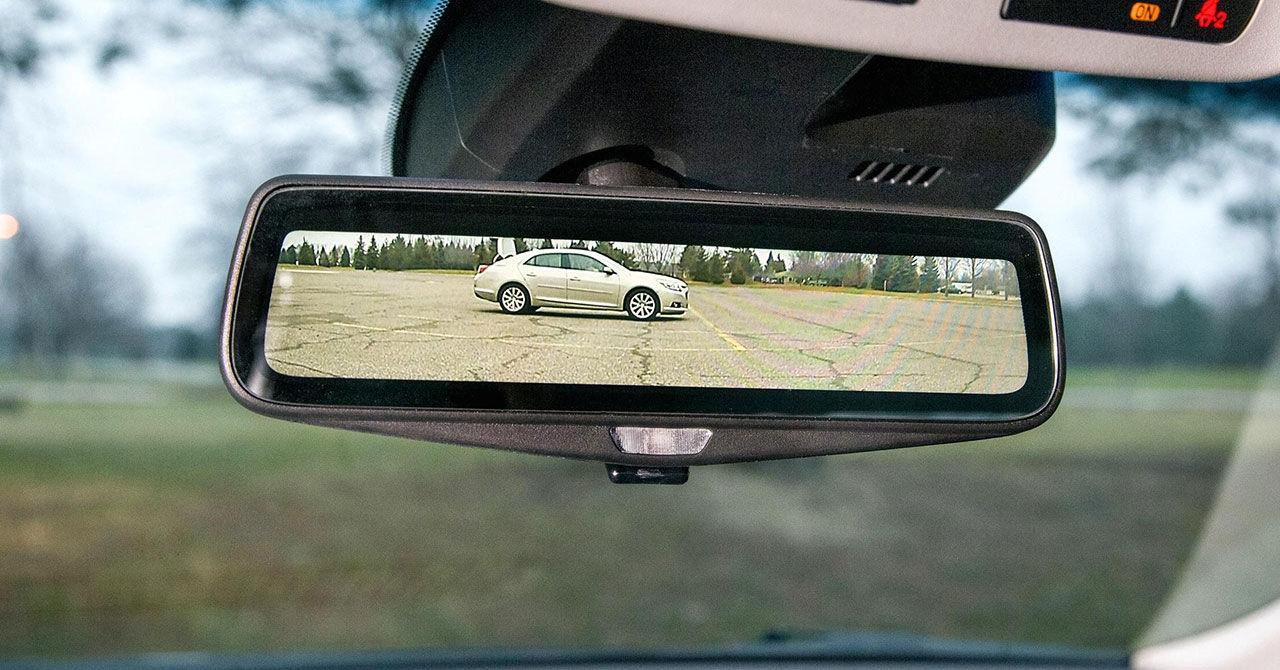 Cadillac CT6 får också skärm istället för backspegel