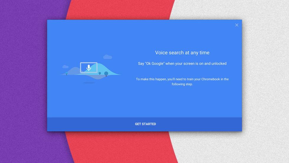 Chromebooks får röstsök
