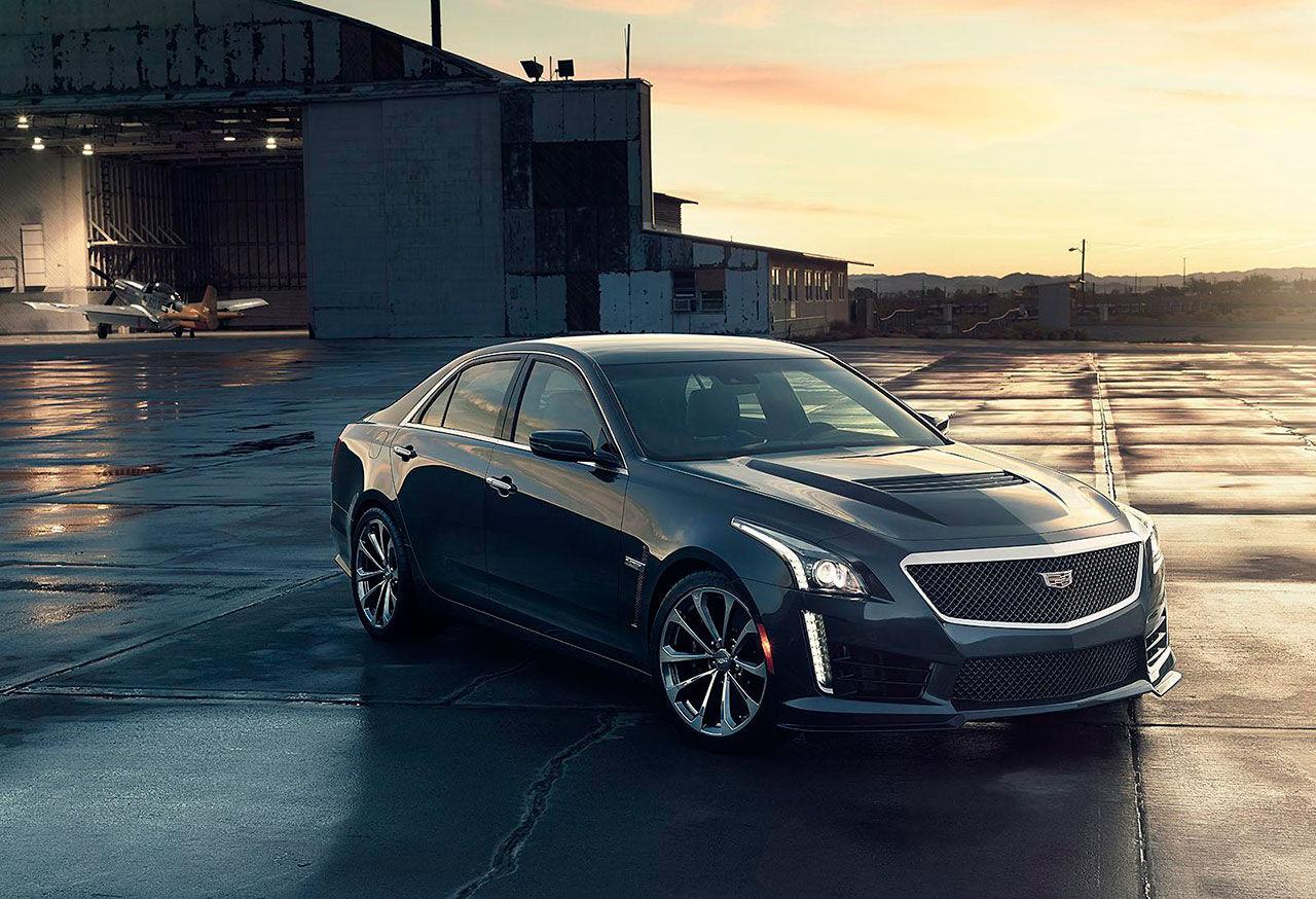 Cadillac presenterar nya CTS-V