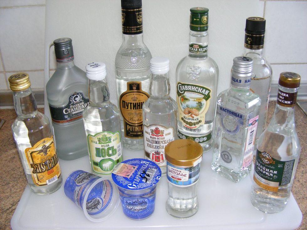Putin vill sänka priset på vodka i Ryssland