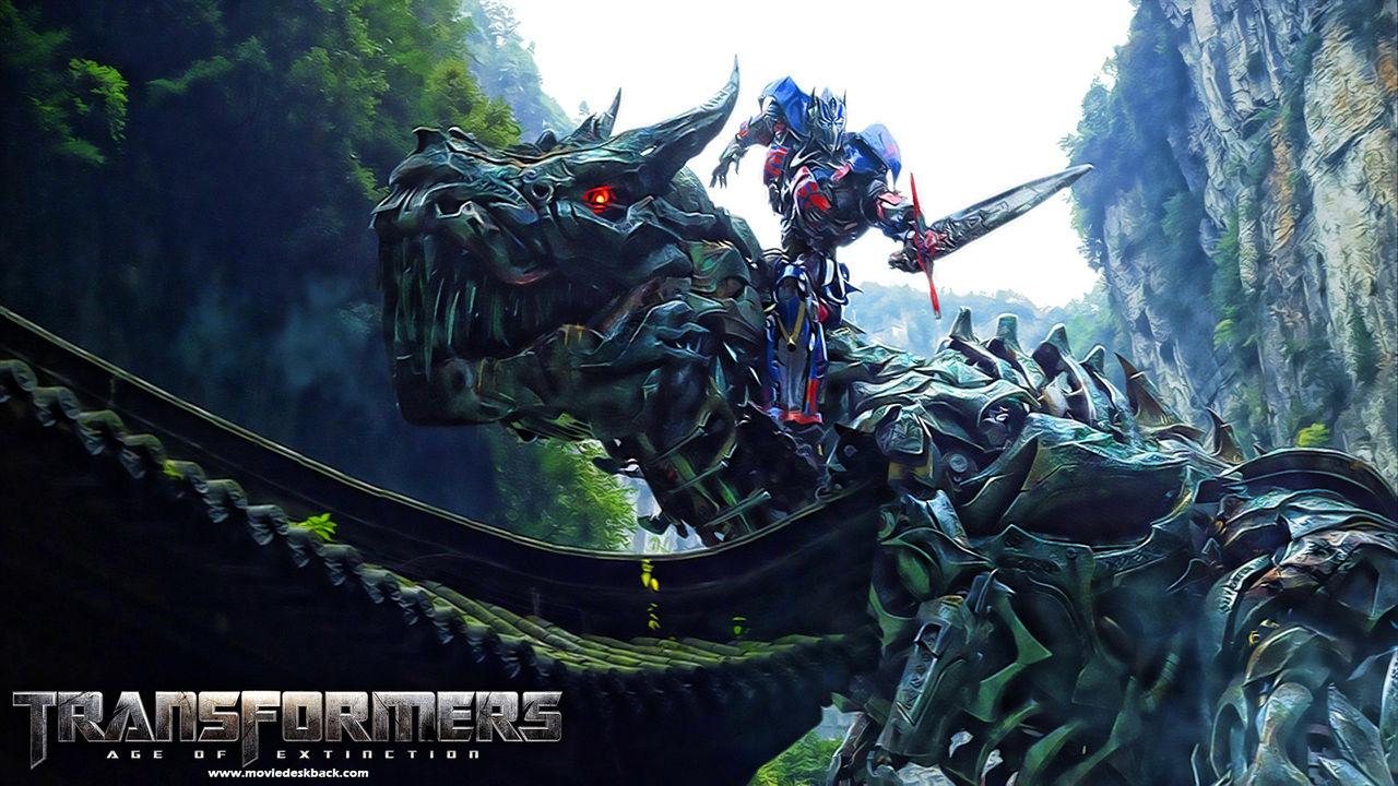 Transformers: Age of Extinction drog in mest deg i år
