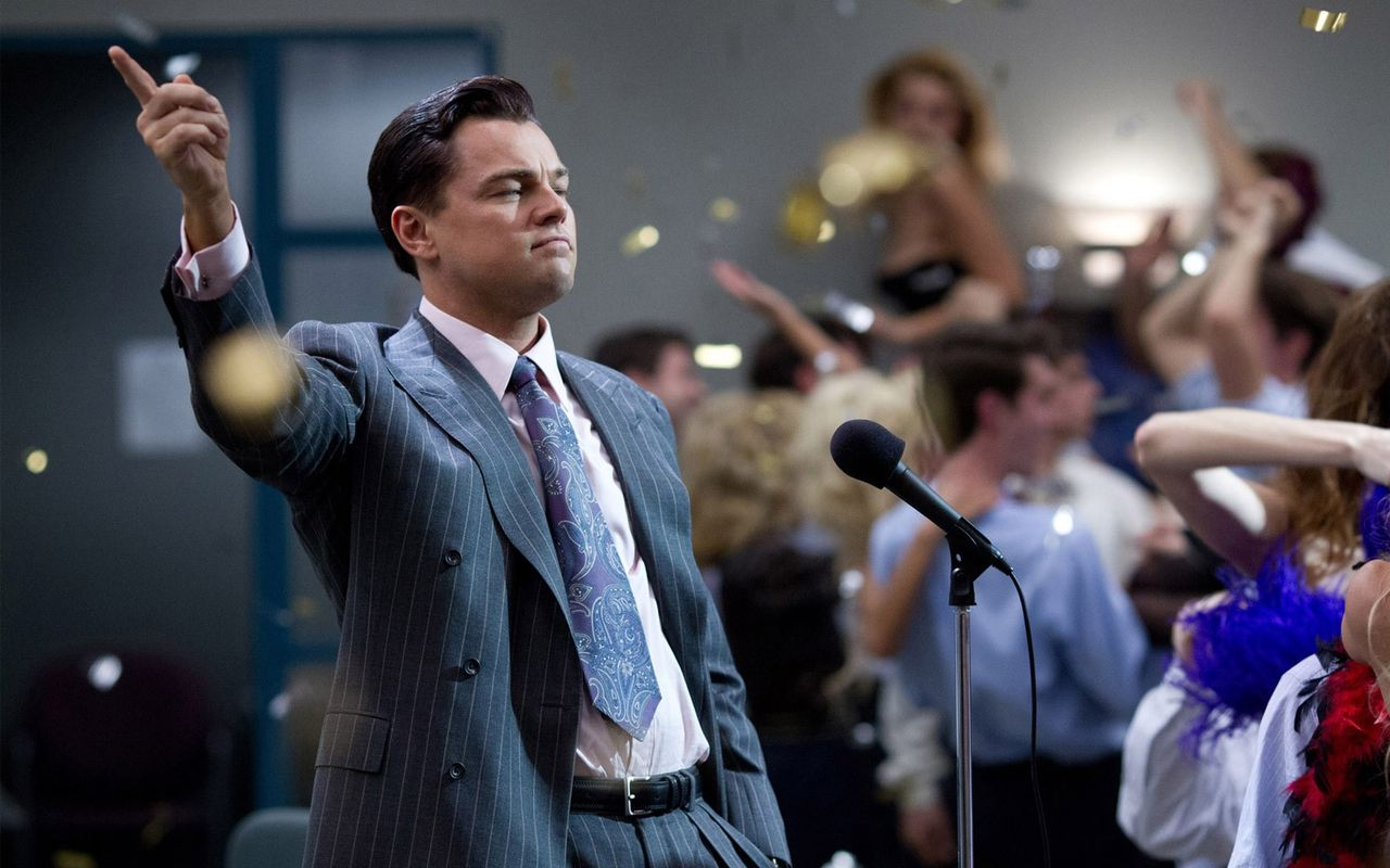 The Wolf of Wall Street mest nedladdade filmen 2014