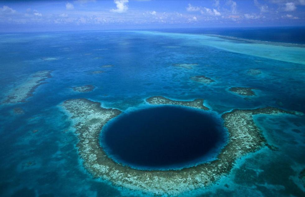 Great Blue Hole ger ledtrådar till varför Mayaindianerna dog ut