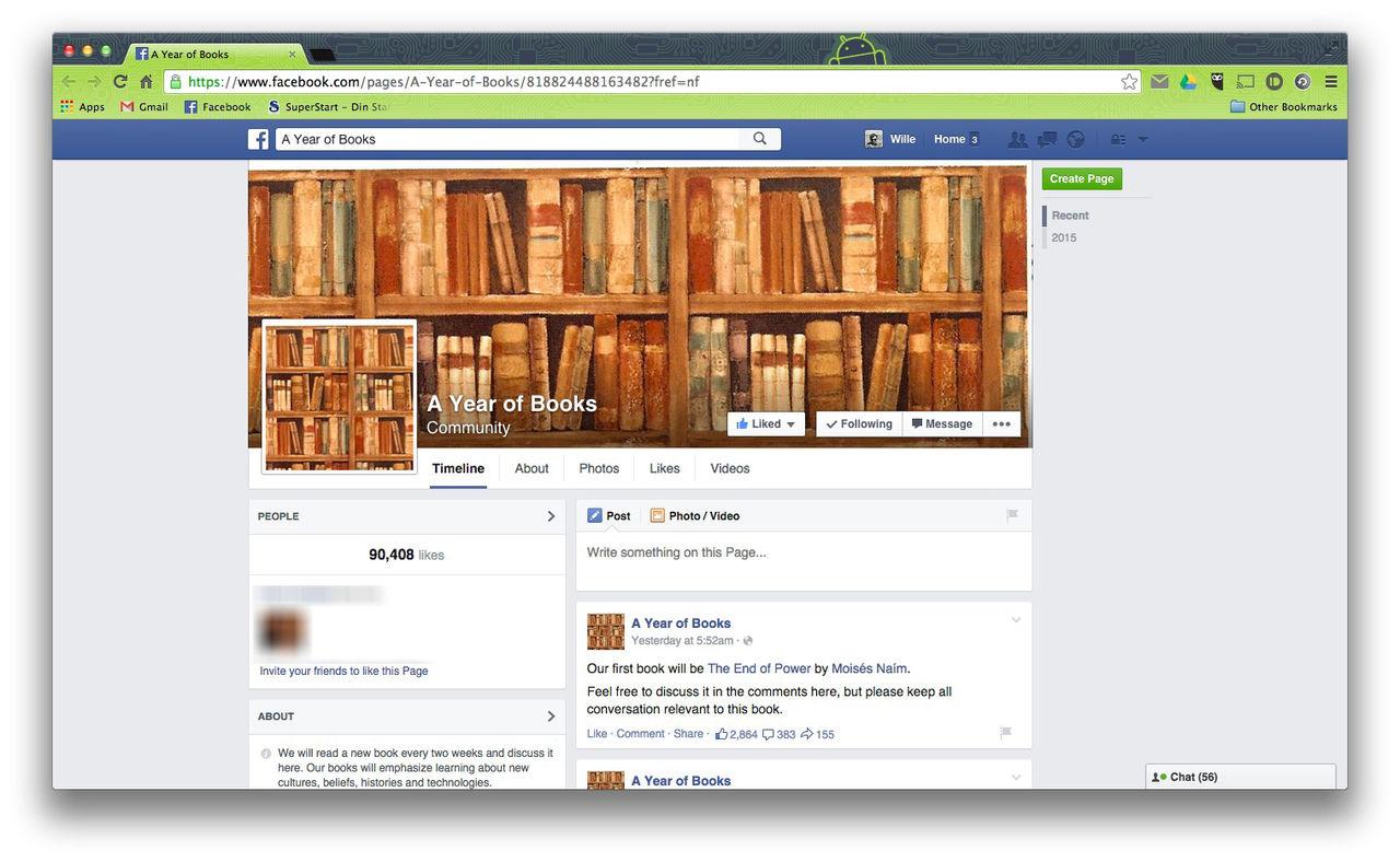 Mark Zuckerberg startar bokklubb