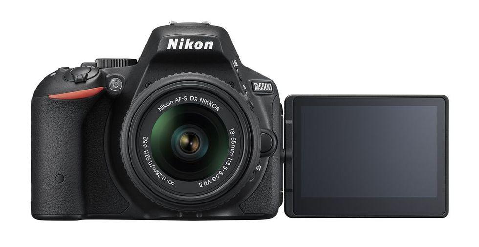 Nikon utannonserar D5500 DSLR och två objektiv