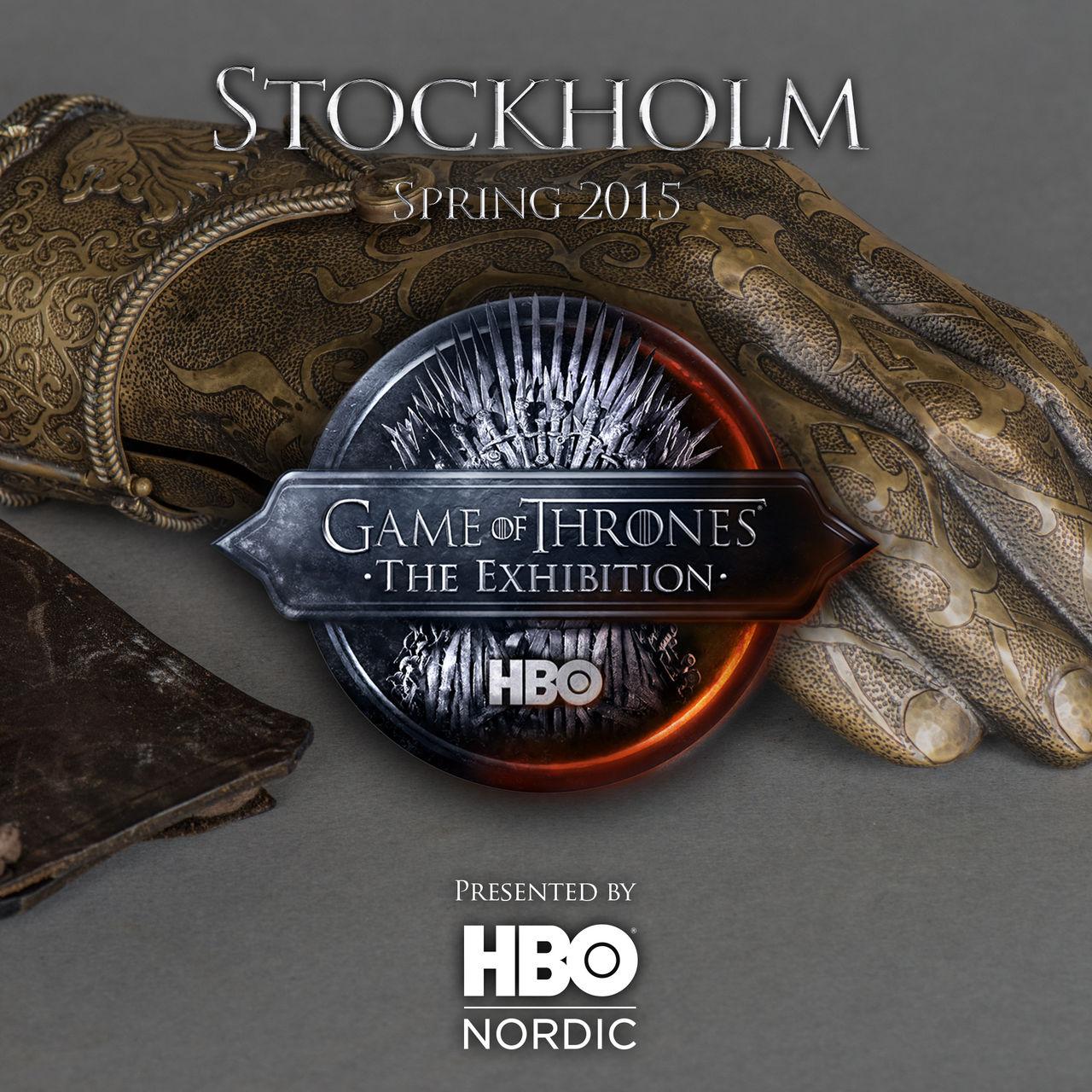 Game of Thrones-utställning till Stockholm