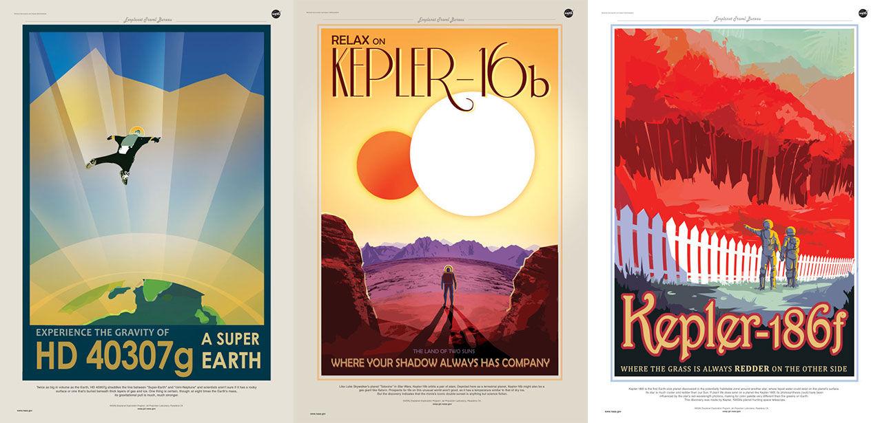 Snygga affischer från NASA