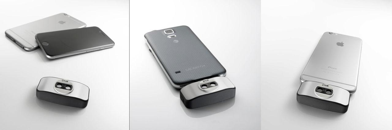 Värmekameran Flir One passar nu med nästan alla mobiler
