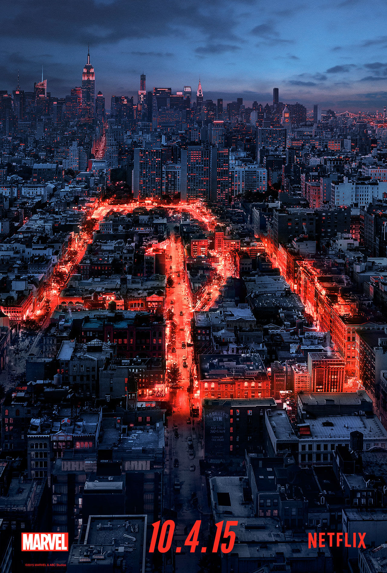 Serien Daredevil har premiär 10 april