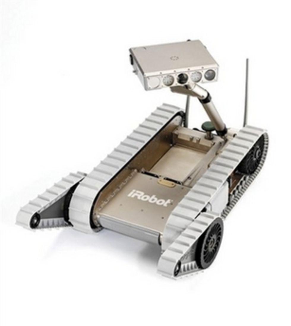 iRobot och Taser gör robot med elpistol