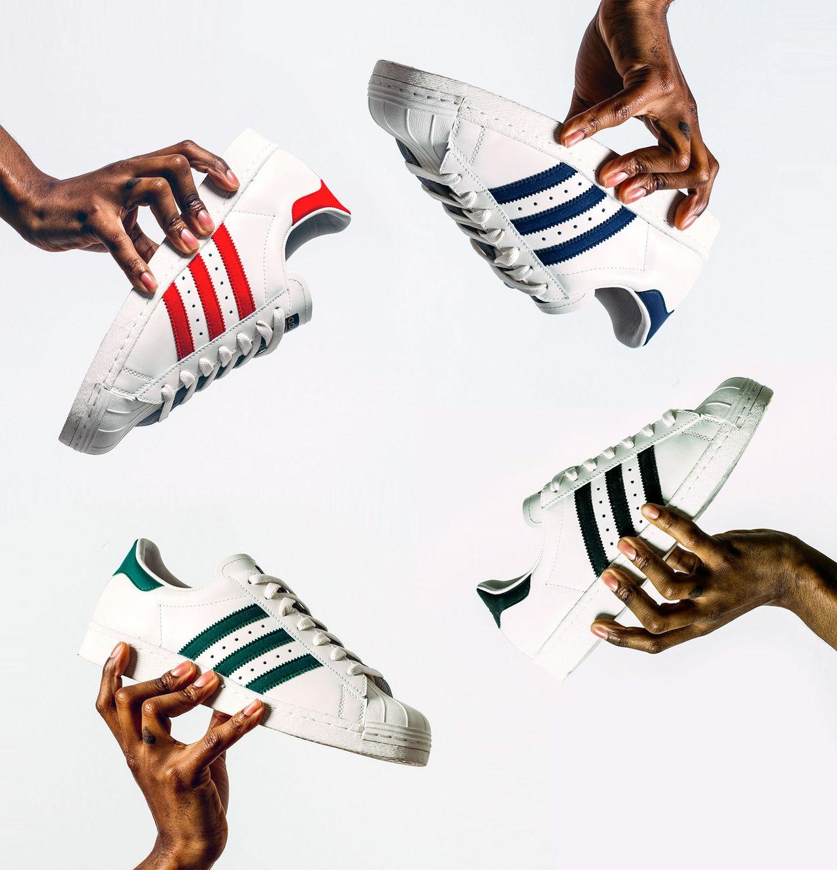 Deluxeversion av Adidas Superstar
