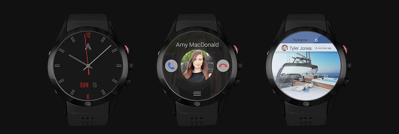 Arrow är en smartwatch med inbyggd kamera