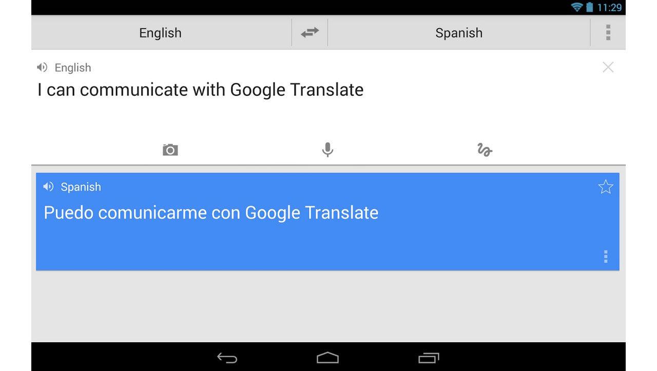 Koppla upp översättningen