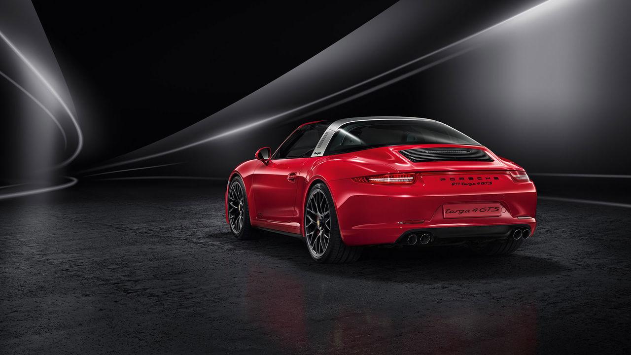 Porsche släpper 911 GTS i Targa-version