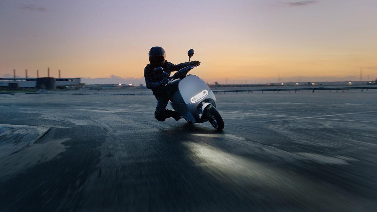 Gogoro Smartscooter är scootern för framtiden