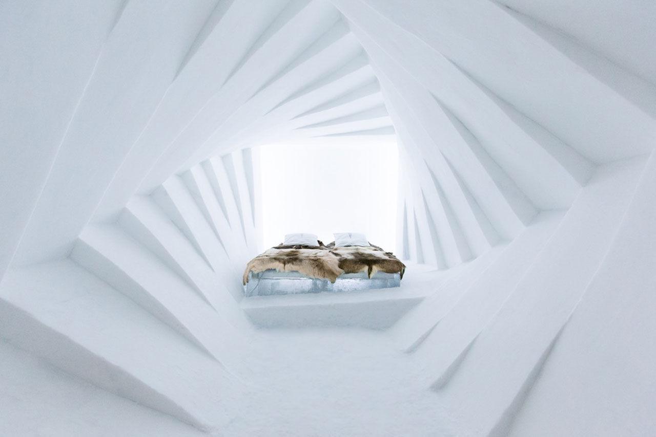 Nya rum på Ishotellet i Jukkasjärvi