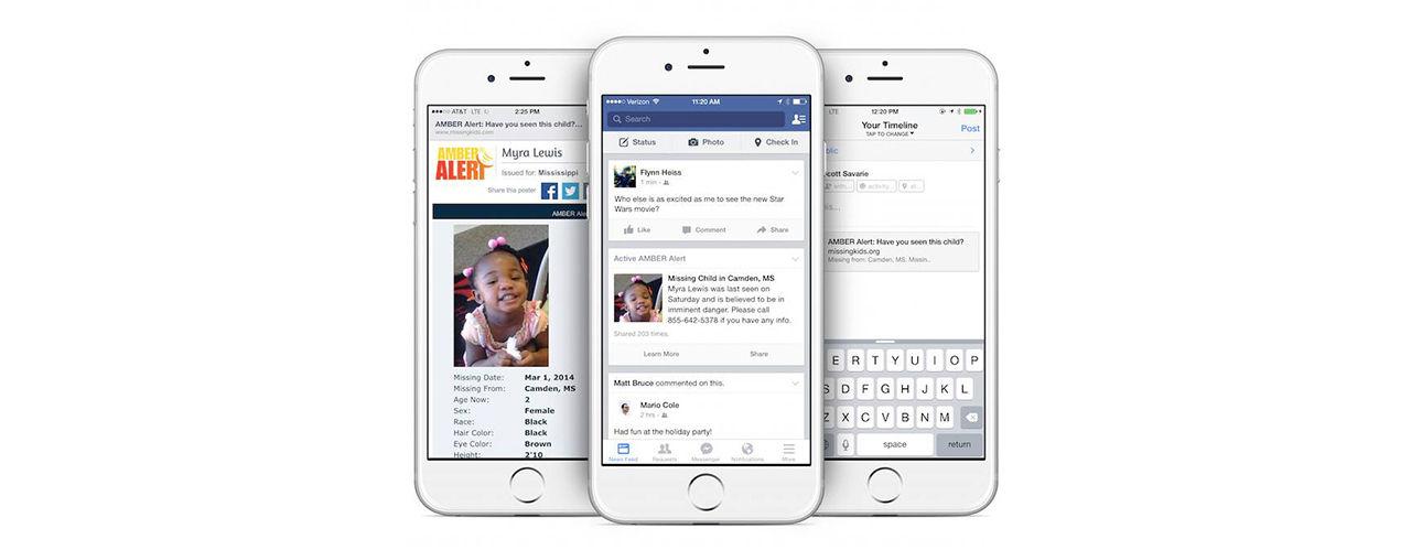 Facebook ska hjälpa till att hitta försvunna barn