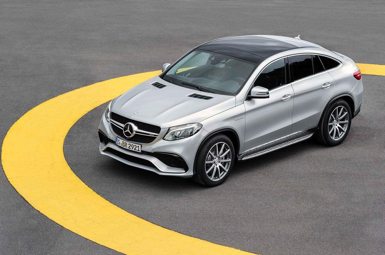 Bilder på Mercedes-AMG GLE 63 S Coupé