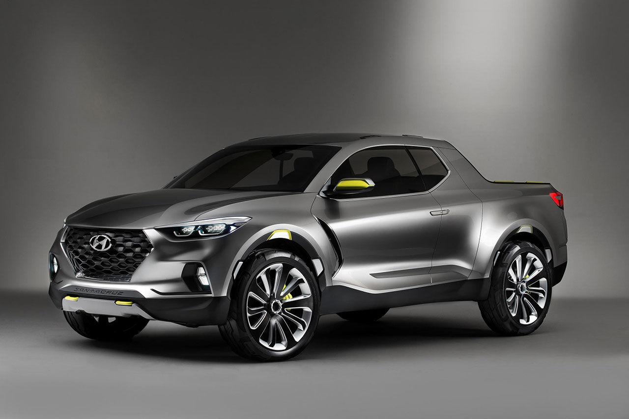 Hyundai visar pickisen Santa Cruz